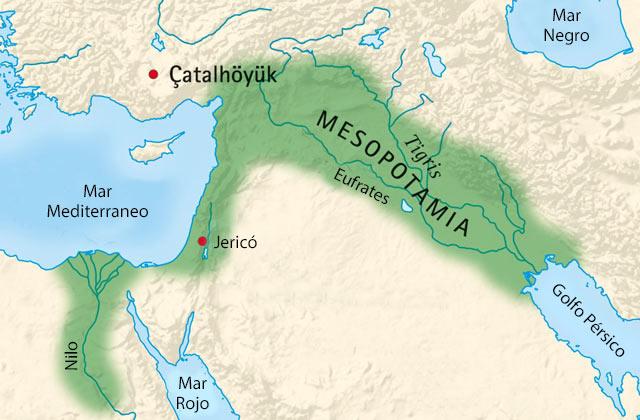 antigua mesopotamia ubicación