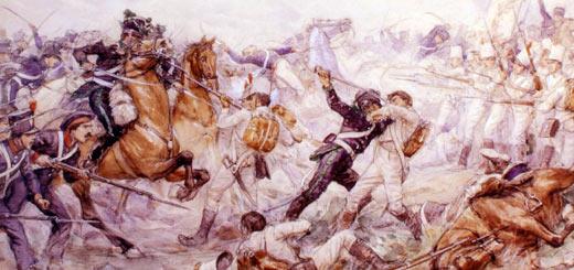 la batalla de maipú