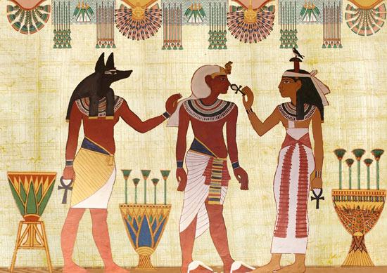 cultura y civilización egipcia - mural