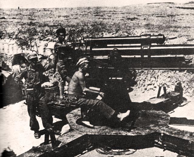 guerra civil española - batalla del Ebro