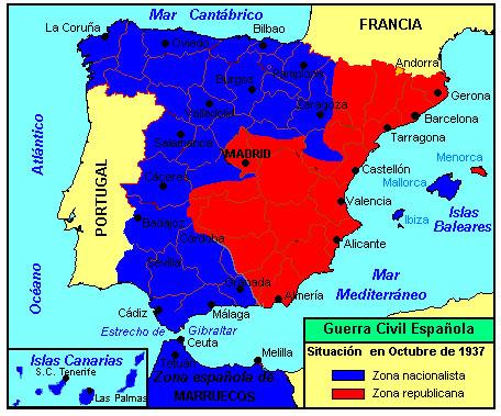 Resumen Corto De La Guerra Civil Espanola Causas Consecuencias