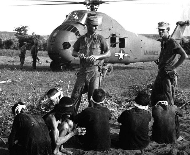 guerra vietnam - prisioneros
