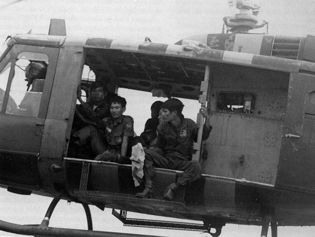 guerra vietnam - soldados vietnam sur