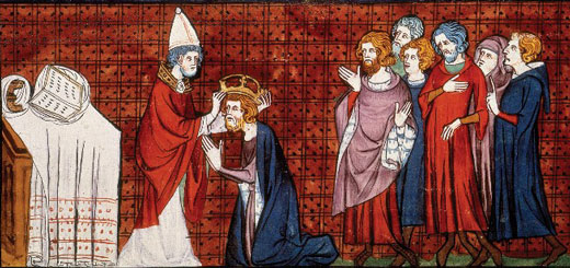 imperio carolingio - coronación Carlomagno