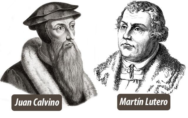 la reforma protestante - Juan Calvino y Martín Lutero