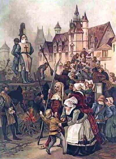 la santa inquisición - la hoguera