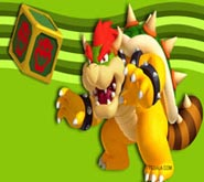 Wallpaper: Bowser con Cubo