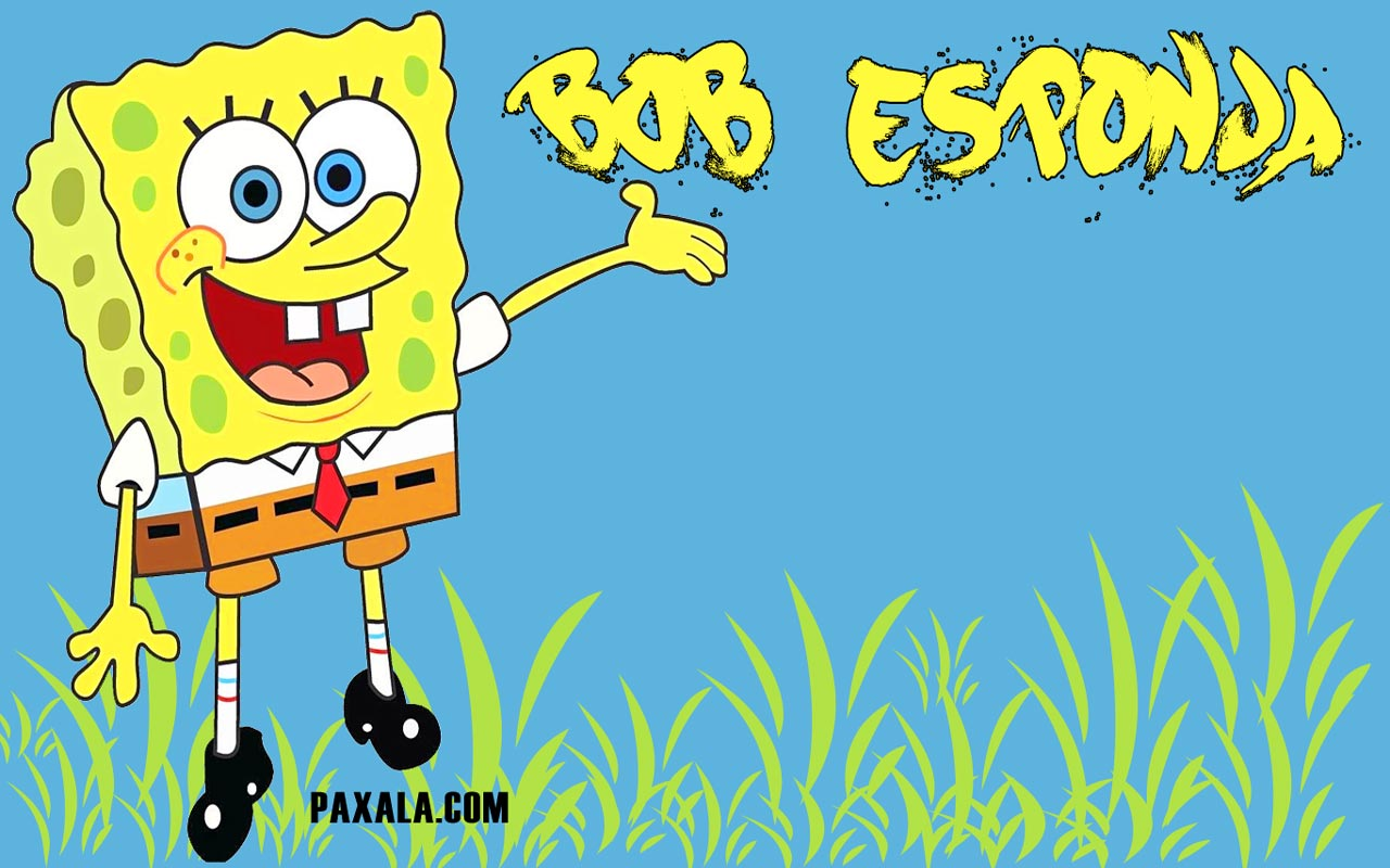 Bob Esponja Wallpaper 1024 x 600