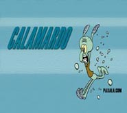 Wallpaper: Calamardo corriendo