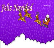 Wallpaper: Hello Kitty Feliz Navidad