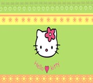 Wallpaper: Hello Kitty sol