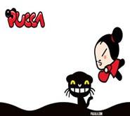 Wallpaper: Pucca y Mio